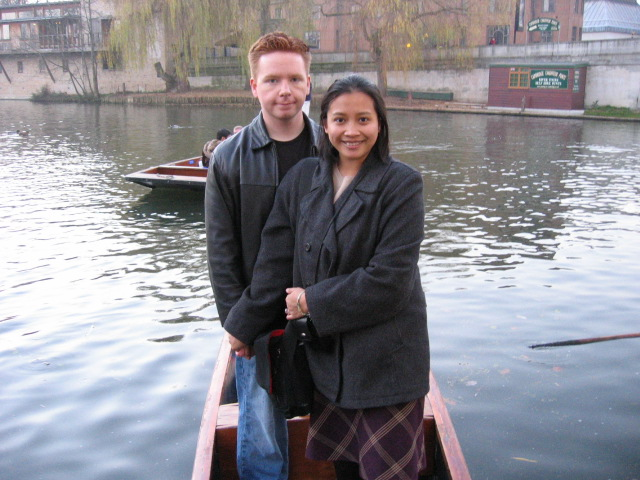 Punting off the River Cam